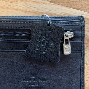 Louis Vuitton men's black Monogram Wallet/ Bifold
